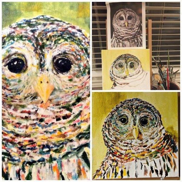 A Painter Needs Confidence and Critics