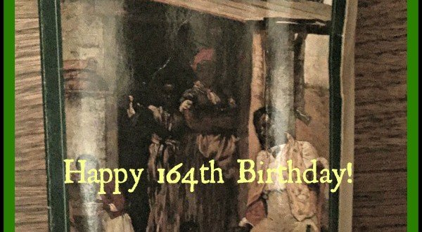 happy 164th birthday uncle tom's cabin