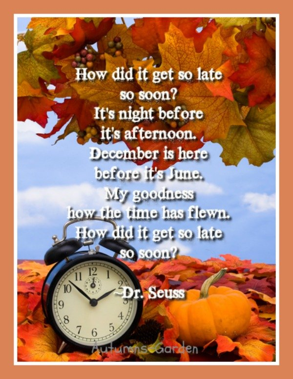 Turning Back the Clocks is Easier than Retrieving Our Words