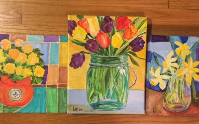 Three Small Paintings
